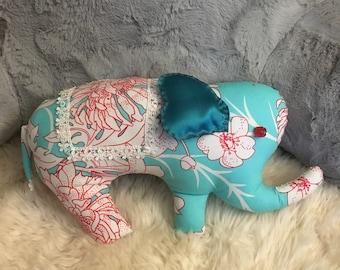 Decorative elephant pillow