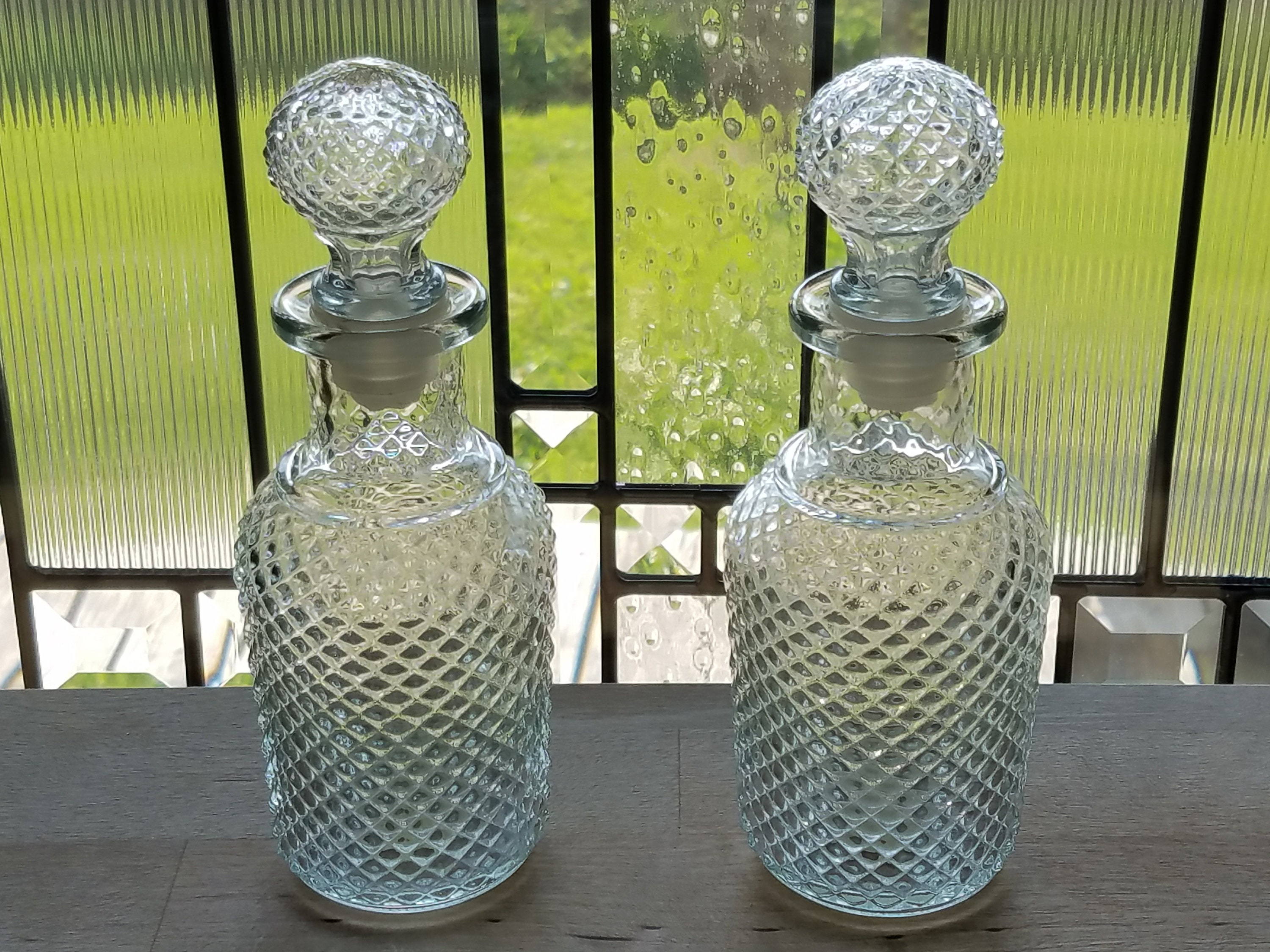 Vintage Avon Apothecary Decanter Set Of 2 Avon Perfume Bottle