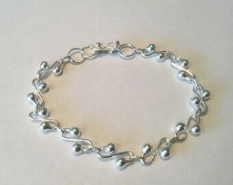 e0b059999f4 Peruvian 950 Sterling Silver Bracelet,Sterling Silver Bracelet, Silver  Bracelet, Peruvian Silver Bracelet, Women Bracelet