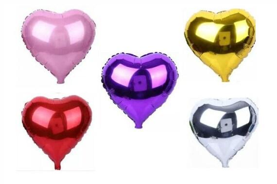 Hou Van Hart Folie Ballonnen 18 Helium Bruiloft Engagement Party Versieringen Valentijnsdag Rood Goud Zilver Paars Roze