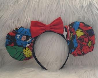 Marvel Avengers Minnie Mouse Ears
