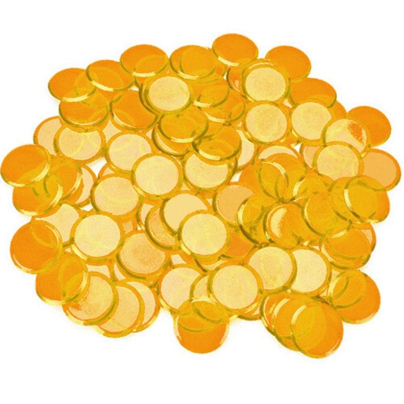 Waldorf colored bingo chips