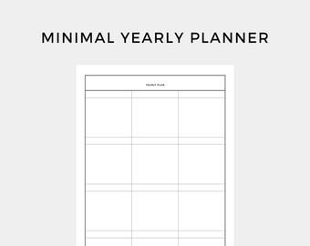 minimal weekly planner minimal planner week planner work etsy
