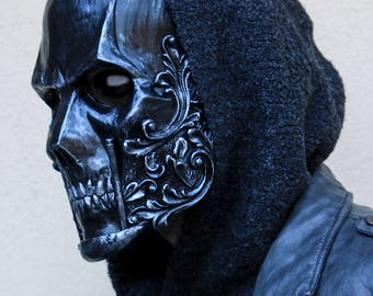THE BARON -Special Pure Iron Edition- (Resin Skull Full-Face Mask)