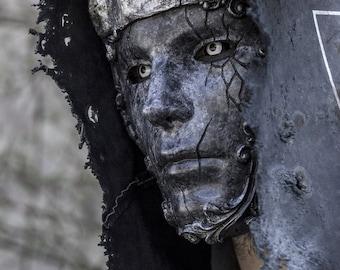 THE ABYSS KING (Resin Full-Face Venetian Mask)