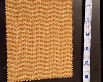 Dollhouse miniature accent rug/chevron