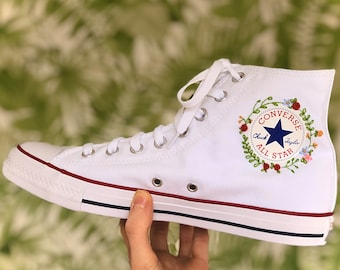 chaussure converse blanche personalise