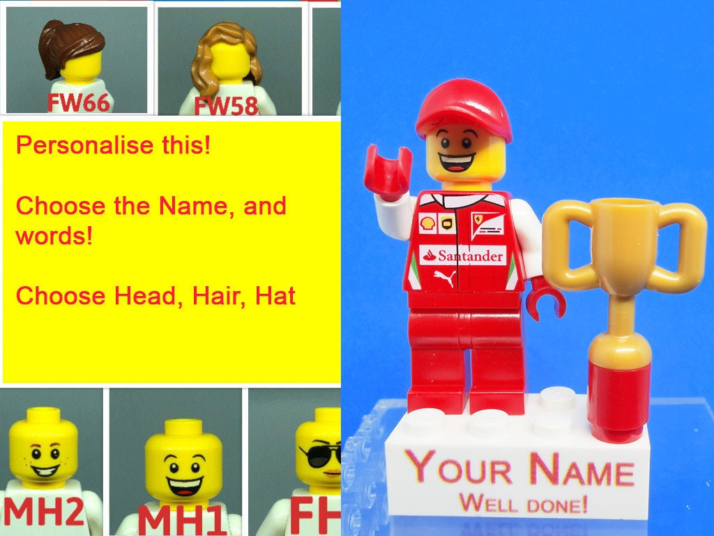Qty 1 Pick Your Favorite NEW LEGO Minifigure Head