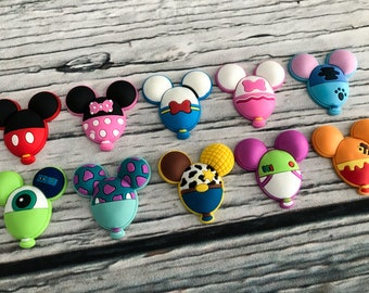Character Balloon Magnets and Brooches