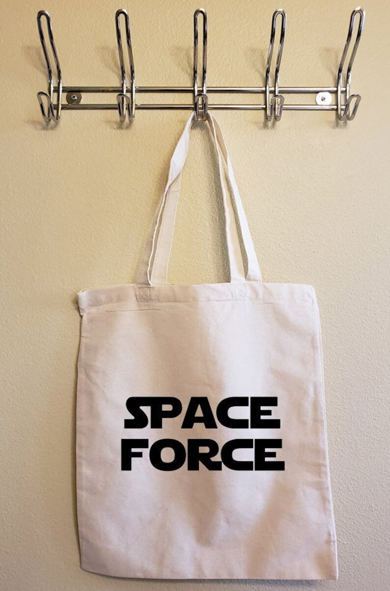 Space Force Tote Bag