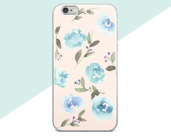Samsung Galaxy S7 Case, Flower Phone Case, iphone 7 Plus Case Floral, Samsung Galaxy S8 Plus Case, iphone 7 Case, Watercolor Roses, iphone