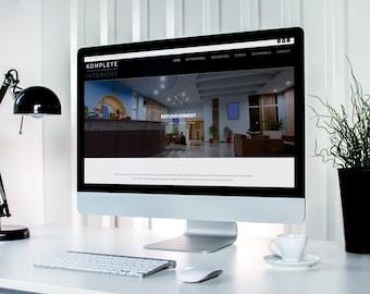 20 Page Website, Basic SEO, Website Design, Web Design, Custom Website, Blog, Professional Website, 1yr Hosting Free Domain