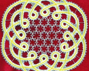 PRAKKER bobbin lace pattern