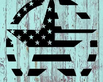 Star Flag Decal/Jeep/Stars and Stripes/Star/Star Flag