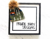 Exploring Slouchy Pom Beanie Camping Beanie Forest Beanie Camper Van Beanie Slouchy Beanie Baby Beanie Beanie Pom Beanie Hat
