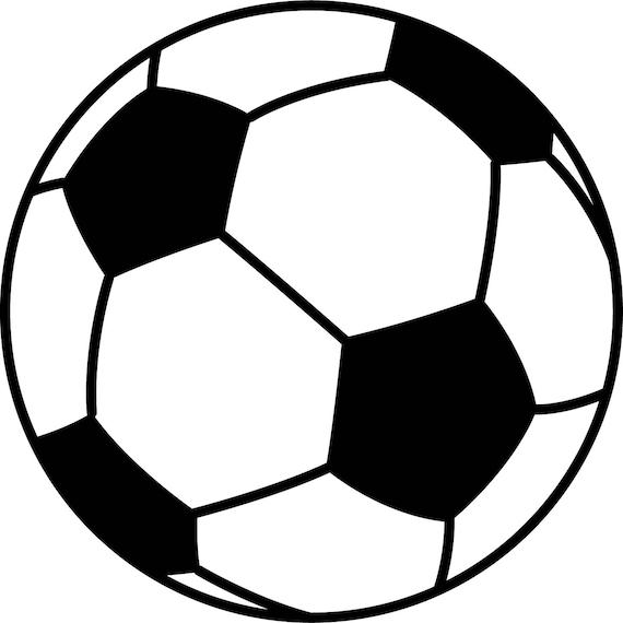 Soccer 2 Ai Eps Jpg Png And Svg Clipart Vinyl Stencil Cricut Silhouette Cameo