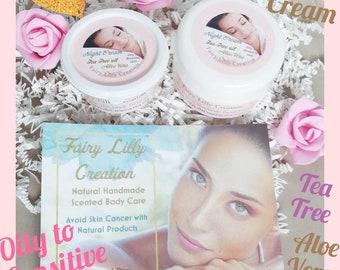 Oily skin Night Cream | Oil Reducer | Vegan face care