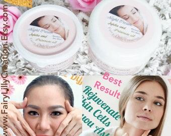 Age Defying Night Cream | Vegan cream | Organic face care