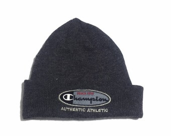 the best attitude ee56d fc57f CHAMPION Beanie Cap Embroidered Unisex Free Size