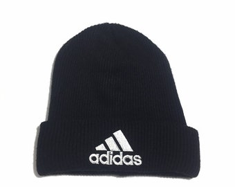 09d9434f3cd ADIDAS Beanie Cap Embroidered Unisex Free Size