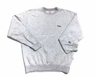 5ed32e13a9da Fila Small Logo Crewneck Sweatshirt Small Size
