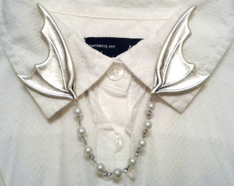 Bat wing collar | Etsy