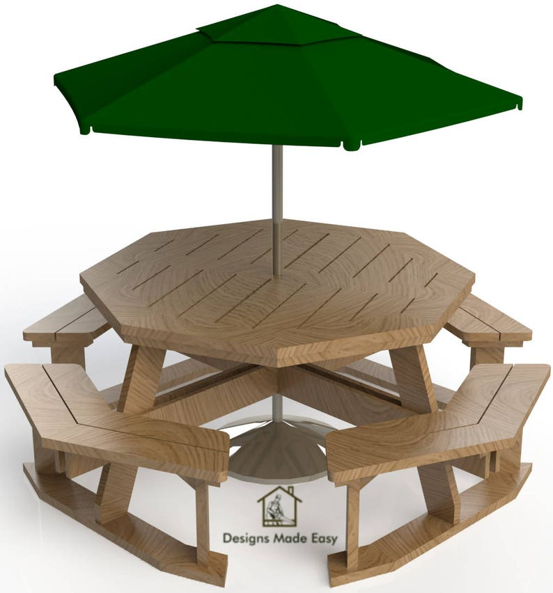 Octagon Patio Table Plans Free Woodworking Projects Amp Ideas