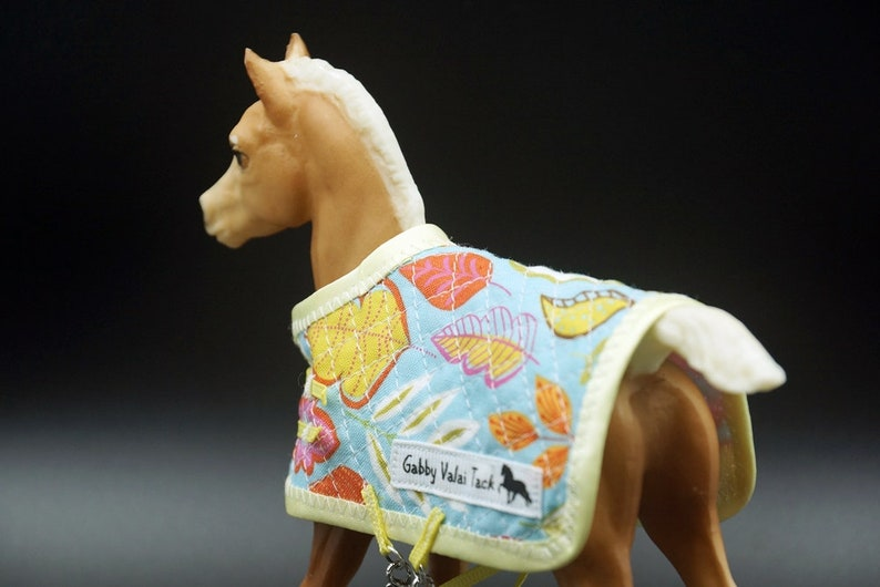 Sewn Made to Order. BREYER Traditional Foal Quilted Blanket with Logo