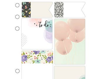 Planner Insert A5, Sticky notes a5, Bliss Sticky notes, Bliss Collection, Carpe Diem a5, Planner post it, Bliss notepad, Memo pad