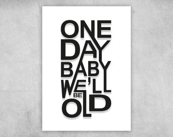 Postcard | One Day Baby | A6