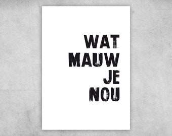 Postcard | What mabada you well | A6