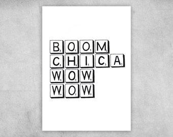 Postcard | Boom Chica Wow Wow | A6