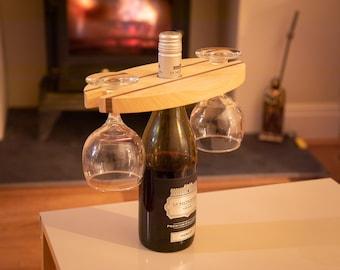 Wooden Wine Display Holder