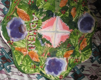 Advent Candle Plate