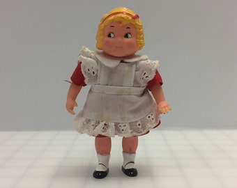 Vintage Campbell's Soup Girl doll