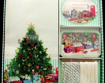 Advent Calendar, Gift Bags - Set