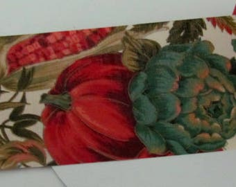 Festive Decoration Ribbon, Autumn, Helloween, Pumpkin, Corn. Br. 67 mm, metre goods