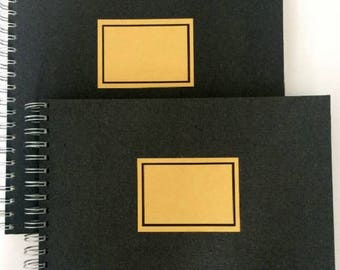 Sketchbook-Standard-28 x 28 cm, 50 sheet, retro style