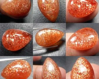 Quality  Red Sunstone Rough Lot Cabochons,Natural Red Sunstone Gemstone,Handmade Red Sunstone Rough Ston,Sunstone Semi 168Cts. AAA+ 10 Pcs
