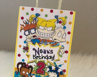 Rugrats Inspired Favor Bags, Rugrats Favor Bag, Rugrats Favor Bags - Checkout Shop for Rugrats Chip Bag and other Matching items!