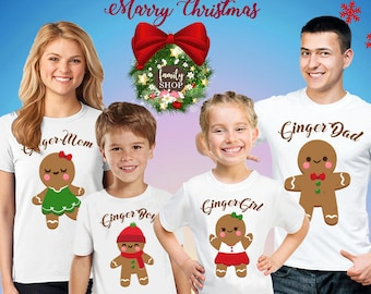 74931d69d47 GINGERBREAD Christmas Shirt