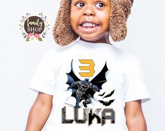 b11fea4e0457 Batman birthday shirt