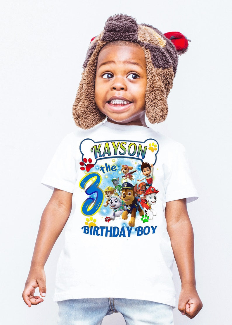 Paw Patrol Birthday Shirts Shirt Girl