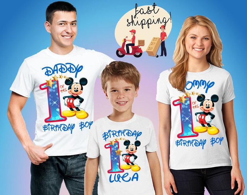 ee4987534 Mickey Party Shirts Shirts Minnie Mouse Birthday Boy Mickey   Etsy