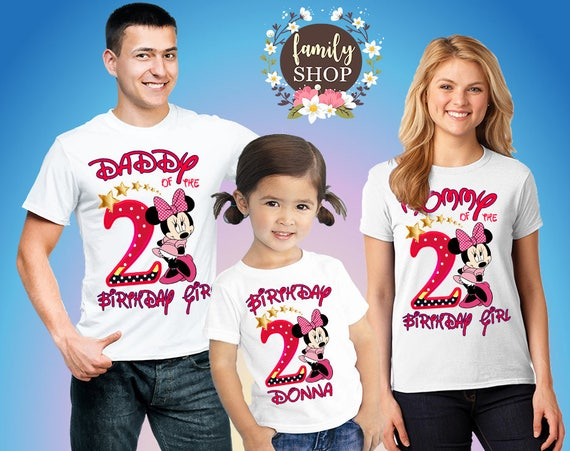 Minnie Party Shirts Mouse Birthday Girl
