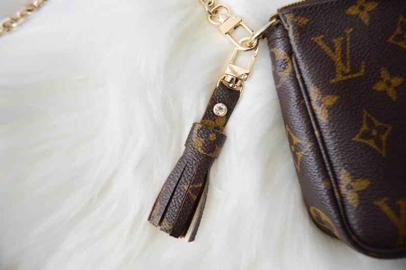Authentic Louis Vuitton Monogram Key Chain Tassel With Clasp  3e60d6acf7556
