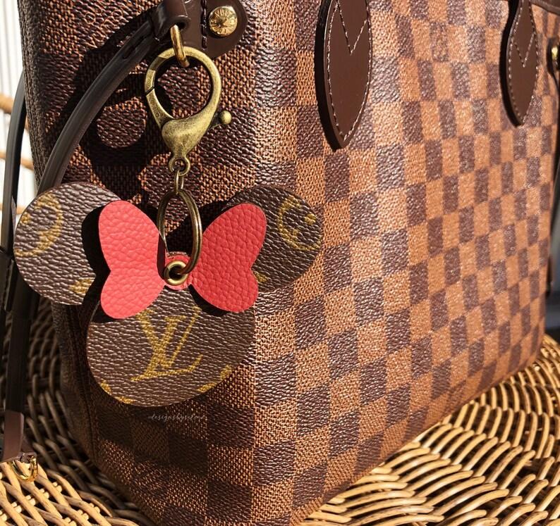 Repurposed Louis Vuitton Minnie Mouse RoseGoldRedLightBlue  601f406b04a33