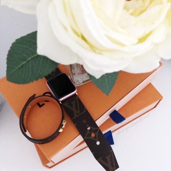Authentic Louis Vuitton Monogram Canvas Apple Watch Straps  04adfbbb3437d