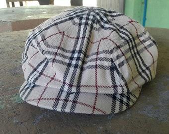 1297686b02e18 90s Burberry London Blue Label newsboy cap made in japan   fashion mens luxury  street fashions sportswear golf hats