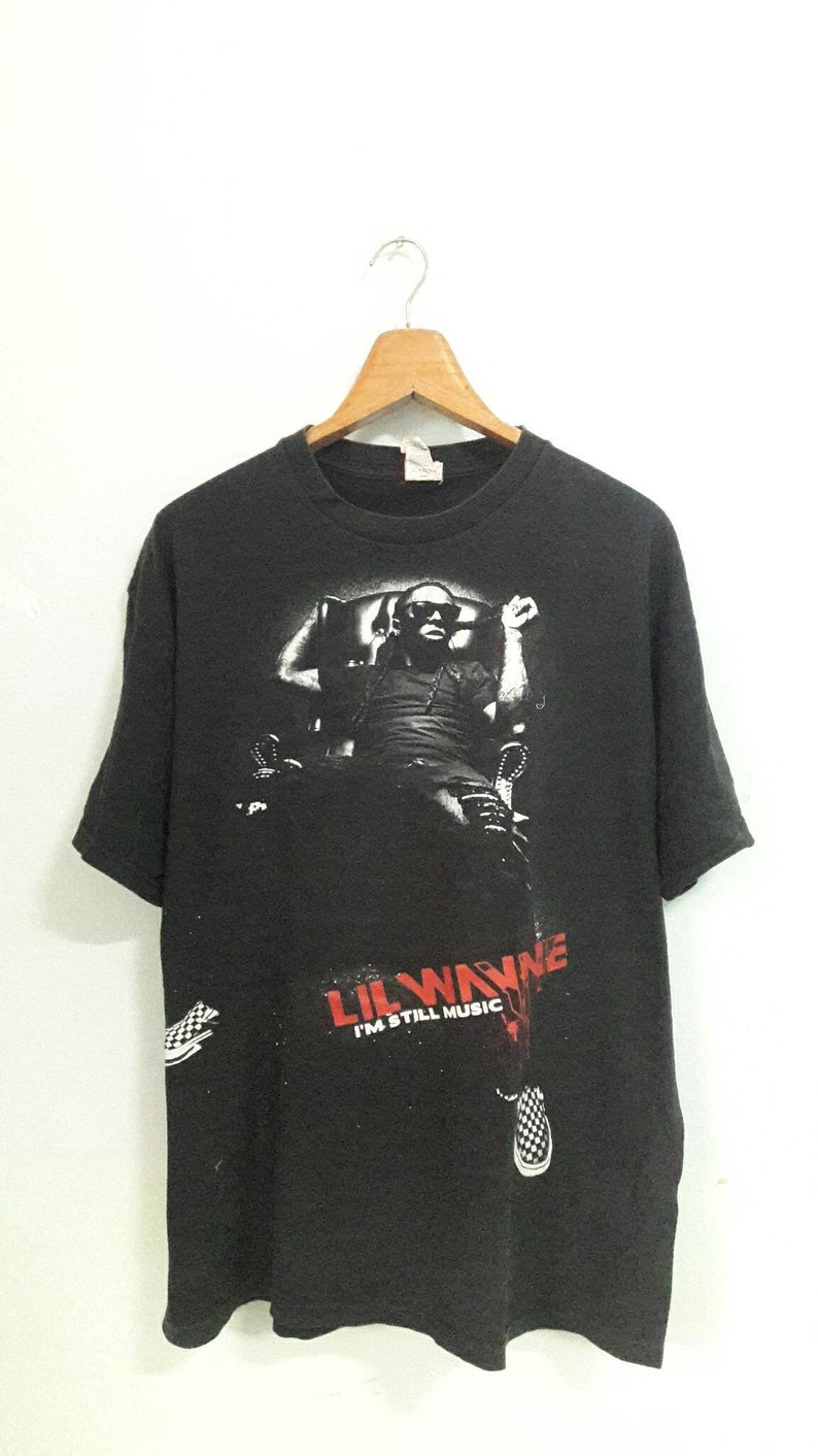 629128bc65890 Lil Wayne size L tour tshirts hiphop raptee fashion / i am still music vans  shoes tupac snoop doggs dmx jay z rappers run dmc streetwear